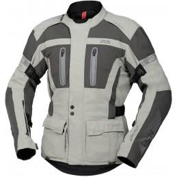 Bunda na motorku IXS Tour Pacora-ST light grey/dark grey