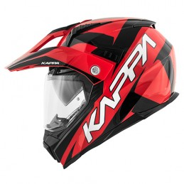 Prilba na motocykel KAPPA KV30 red/black