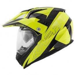 Prilba na motocykel KAPPA KV30 fluo/black