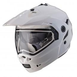 Prilba na motorku CABERG Tourmax White metal