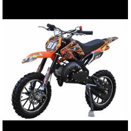 XMOTOS minicross motocykel XB81 49CC 2T modrý