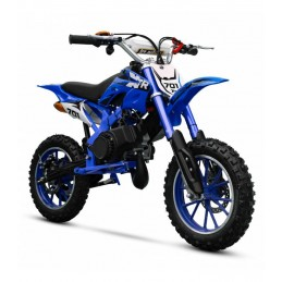 SUNWAY minicross motocykel XTR 701 49CC 2T modrá