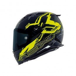 NEXX prilba na motorku X.R2 Acid neon yellow
