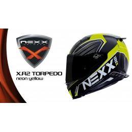 NEXX prilba na motorku X.R2 Torpedo neon yellow