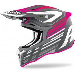 AIROH prilba na motorku STRYCKER SHADED pink matt