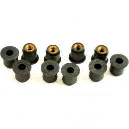 JMP gumová matica M6x1.00 15mm