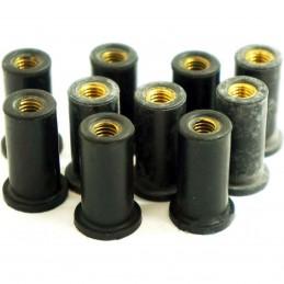 JMP gumová matica M6x1.00 25mm
