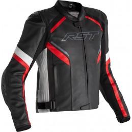 RST bunda na motocykel Sabre airbag CE black white red