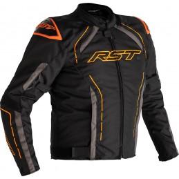 RST bunda na motocykel S-1 black grey orange