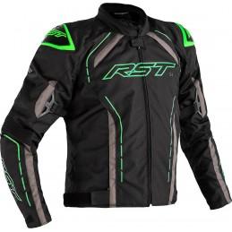 RST bunda na motocykel S-1 black grey green