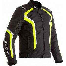 RST bunda na motocykel Axis black yellow