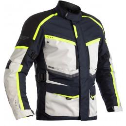RST bunda na motocykel Maverick white black blue