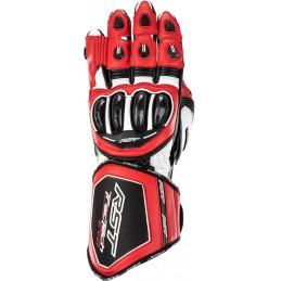 RST rukavice na motocykel Tractech Evo 4 red white black