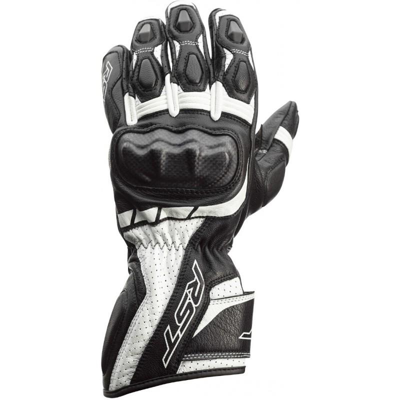 RST rukavice na motocykel Axis CE white black