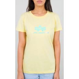 Alpha Industries dámske tričko Rainbow yellow