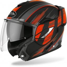 Prilba na motorku AIROH Rev19 Ikon black red