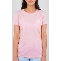 Alpha Industries dámske tričko Basic Small logo rose