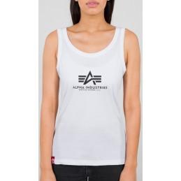 Alpha Industries dámske tričko Basic Tank Top white
