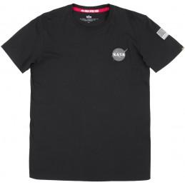Alpha Industries pánske tričko Space Shuttle black