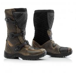 Topánky na motocykel RST raid hnedé