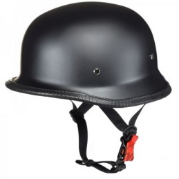 Prilba na moto AWINA braincap German čierna matná