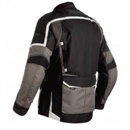 Bunda RST maverick čierno-šedo-strieborná