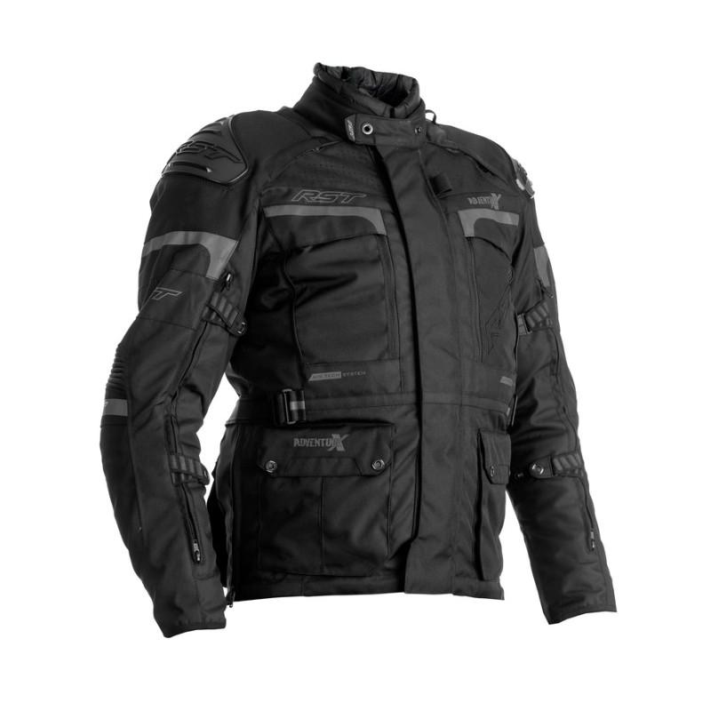 RST bunda na motocykel Adventure-X black