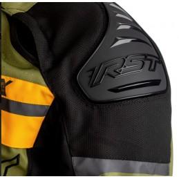 Bunda RST adventure X čierna zeleno-okrová