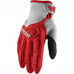 MX rukavice Thor Spectrum S20 red/gray