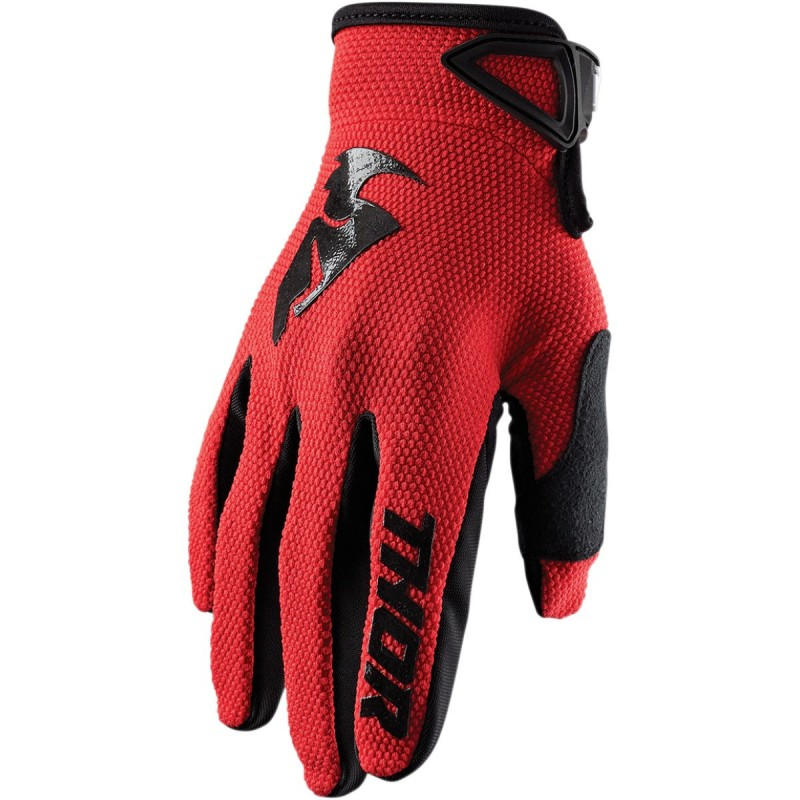 MX rukavice Thor Sector S20 red