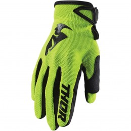 MX rukavice Thor Sector S20 green