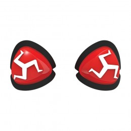 Slidery Manx OXFORD červené