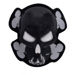 Slidery Skull OXFORD čierne...